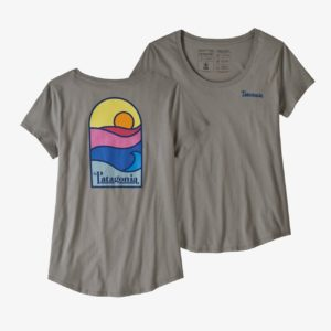 Women's Sunset Sets Organic Cotton Scoop T-Shirt